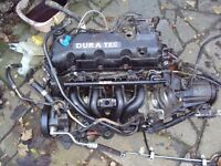 Ford KA collection 1300cc engine and gear box