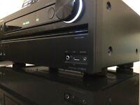ONKYO TX-NR616 THX CERTIFIED, HDMI, 3D, USB/IPOD, 4K UPSCALING, NETWORK SPOTIFY 7.2 CNEMA RECEIVER.