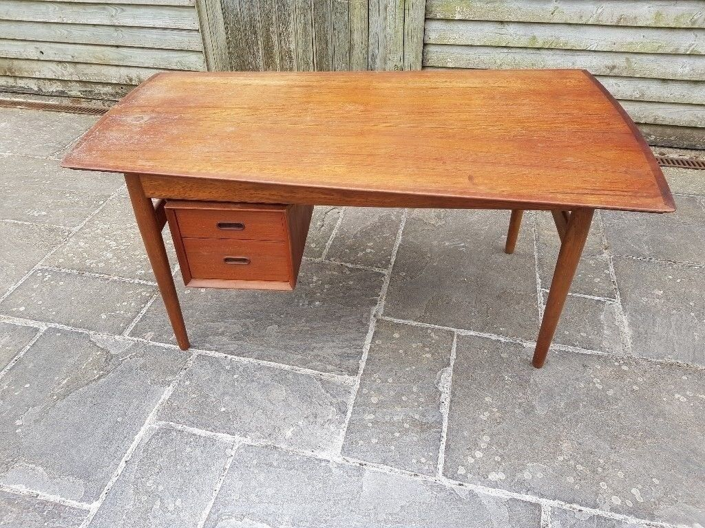 from teak century danish desk modern product furniture vintage mid selig