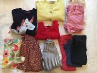 M&S and NEXT baby girls bundle 6-18m