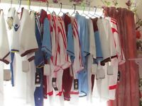 16 X FOOTBALL SHIRTS WITH TAGS