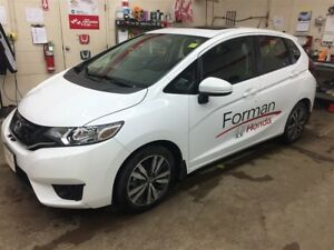 2016 Honda Fit EX - Courtesy car sale - Winter tires and rims