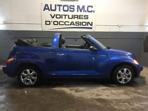 2005 Chrysler PT Cruiser convertible,full(garantie inclus)