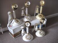 RETRO CANDLESTICK TELEPHONE.......used as stage prop £12.00