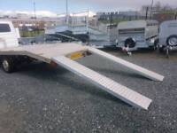 Ramps for a trailer 2.5ton suit plant diggers tractors and cars