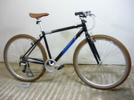 "Dawes Coretto Sport Cruiser Hybrid Town Bike 19"" Med Alloy 9 Spd Very Cool New Shop-Soiled"