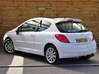 Peugeot 207 1.6 16V Sport XS THP 150 3dr FULL LEATHER (bianca white) 2007