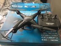 Tech RC quadcoptor drone with camera