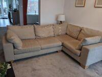 Next corner sofa colour oatmeal