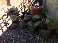 Rocks for garden - ideal for rockery or pond