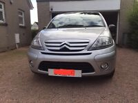 Citroen C3 SX- 2 owners from new and VERY LOW MILEAGE. Used as a second car occasionally.