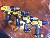 Dewalt Drills XR 18v Body Only