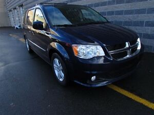2015 Dodge Grand Caravan CREW/LEATHER/SUNROOF/DVD