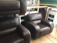 Ex gillies quality secondhand leather suites choice of 16 from £445