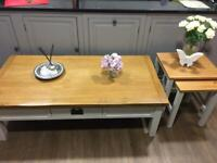 Lovely Alderton Oak Large Coffee Table with Two Drawers Cotswold Lundy RRP£329