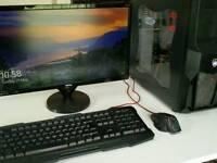 Custom i7 4790k Editing PC - Win 10 - 32Gb Ram - 128Gb SSD - GTX 750 - 1080p LED Monitor