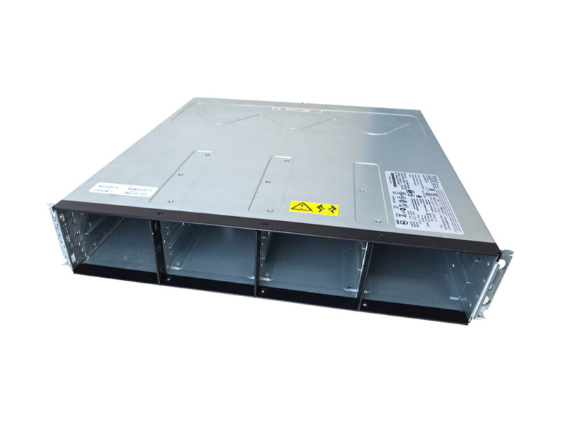 IBM SYSTEM STORAGE DS3512 12-BAY ARRAY CHASSIS W/ 2X POWER SUPPLIES C2A 68Y8475