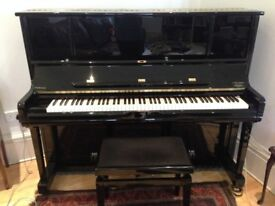 Beautiful Kawai Upright Piano with singing middle register