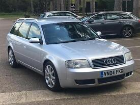 2004 AUDI A6 AVANT SPORT 1.9 TDI S LINE 1 OWNER FROM BRAND NEW FSH NEW CLUTCH CAMBELT DRIVES LOVELY