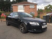 2006 AUDI A4 S LINE 2.0 TURBO QUATTRO 220 BHP ** FULL LEATHER ** ALL MAJOR CARDS ACCEPTED