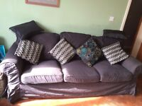 3 Seater Ikea Sofa with removable covers