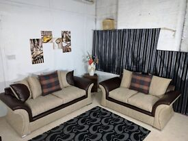 **EXPRESS DELIVERY** BRAND NEW STYLISH VEGAS 3 + 2 SOFA UNIT ON SPECIAL OFFER