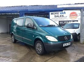 2004 green Mercedes Vito 2.1cdi 91.000 from new 7months mot px welcome & delivery available