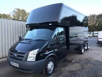 2009 FORD TRANSIT 2.4 TDCI DIESEL 350T 115PS, LUTON VAN, TAIL LIFT