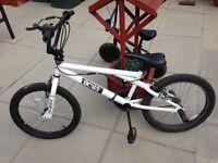 """White BMX bike 20"""""""
