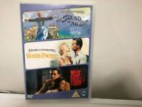 Classic Triple dvd The sound of music South Pacific West side story