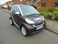2009 SMART FOUR TWO HIGHSTYLE COUPE AUTO SILVER ONLY 27000 MILES 12 MONTH M.O.T.