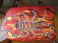 Scorpion swimming float