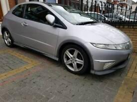 Honda Civic Type S GT I-Vtec 1.8l Silver Flappy Paddle Semi Auto
