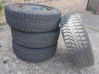 TYRES AND WHEELS REALLY GOOD CONDITION