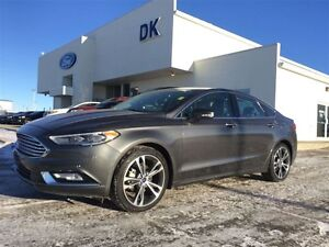 2017 Ford Fusion Titanium AWD, Fully Loaded w/Leather, Moonroof,