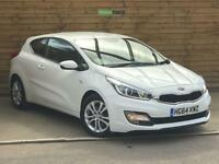 Kia Pro Ceed 1.4 VR7 3dr ONE PRIVATE OWNER FULL KIA HISTORY (fusion white pearlescent) 2015