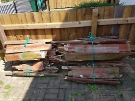 Old fencing - free firewood