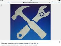 Edinburgh Plumbing Services 0131-561-9869. Serving Edinburgh & Surrounding Areas