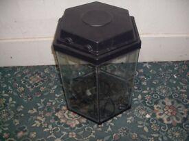 Hexagonal Fish Tank ID 73/11/17