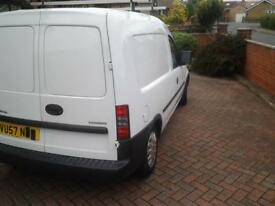 Vauxhall van excellent condition light use only.