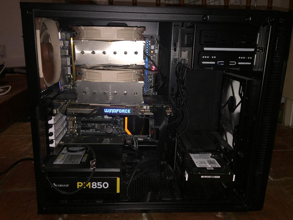 Desktop PC - Intel i7 5820K (6 cores, 3.6GHz), GTX 980, DDR4 16GB RAM, M.2. SSD 240GB, HDD 2TB