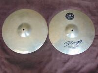 Stagg SH-HM14B 14 inch Med. Brilliant Hi Hats, pair