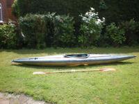 Gaybo Olymp Single Seat Fibreglass Kayak / Canoe in Hemel Hempstead