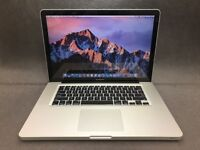 MACBOOK PRO 15 INCH 3.06GHZ i5,4-16GB RAM, 500GB HD OFFICE 2016, ADOBE CS6