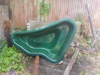 Wyvale Garden fibre glass pond for sale (used)