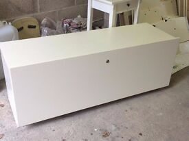 Storage boxes drawers End of bed seat