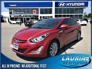 2016 Hyundai Elantra GL Sport Appearance - Sunroof / Backup came