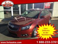 2012 Chevrolet Cruze LT Turbo (138 bi weekly 0 dwn tax inc)