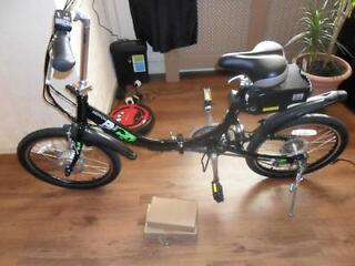 eco 250watt 24 volt lithium battery peddle assist folding electric bike NEW