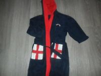 M&S England 5-6yrs dressing gown
